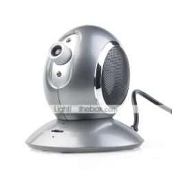 Głośnik, mikrofon i kamera - trzy w jednym
