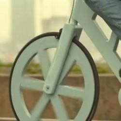 Rower z kartonu