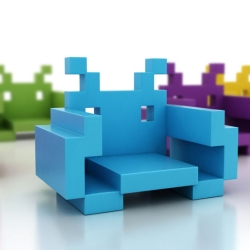 Krzesło Space Invader