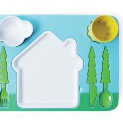 Krajobrazowy zestaw obiadowy