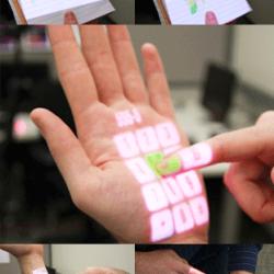 Wyświetlany panel dotykowy