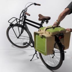 Koszyk piknikowy na rower