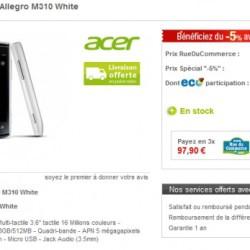 Acer Allegro za niezłą cenę
