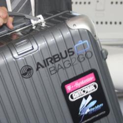 Torba z funkcją śledzenia bagażu
