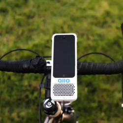 Głośnik przy rowerze