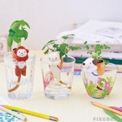 Ceramiczne zwierzątka idealne dla roślin