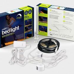 Łagodne światło w sypialni
