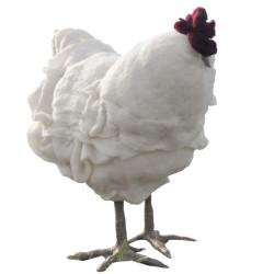Podnóżek w kształcie kury