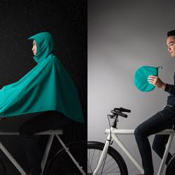 Osłona przeciwdeszczowa na rower