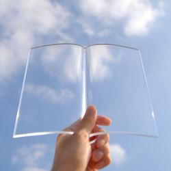 Przezroczysta zakładka do książki