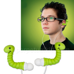 Słuchawki robaki