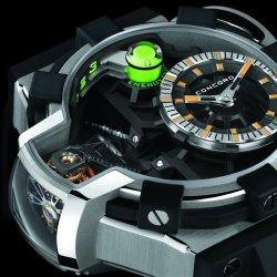 Zegarek z antygrawitacyjnym mechanizmem