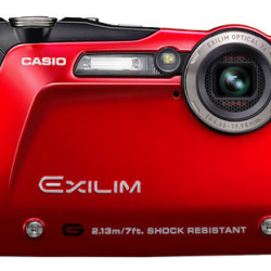 Wodoodporny i smukły Casio EX-G1