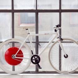 Rower z wbudowaną baterią