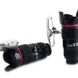 Spinki do mankietów jak aparaty