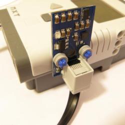 Akcelerometr i żyroskop dla Lego Mindstorms NXT