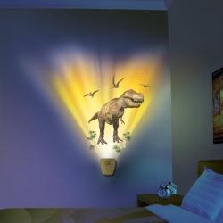 Wyświetlacz ożywiający dinozaury