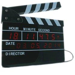 Zegar w klapsie filmowym