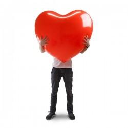 Dmuchane serce XXXL