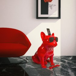 Głośnik w kształcie psa