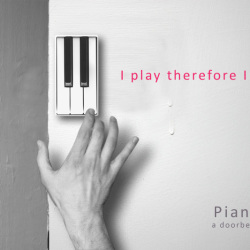 Klawisze pianina jako dzwonek