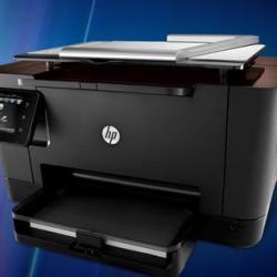 Drukarka HP skanująca obiekty