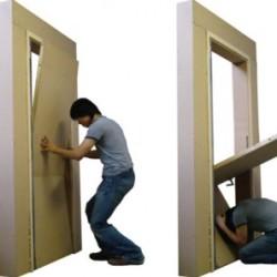 Drzwi chroniące przed trzęcieniem ziemi