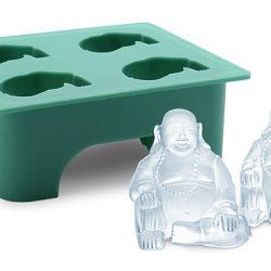 Kostki lodu w ksztacie Buddy