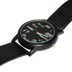 Zegarek pełen zagadek matematycznych