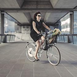 Nakładka na koło roweru