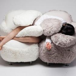 Fotel - przytulak