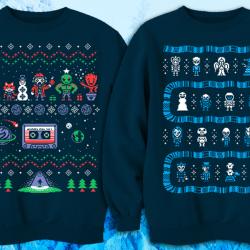 Swetry w świątecznym stylu