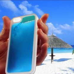 Świecący piasek w etui do iPhone'a 5