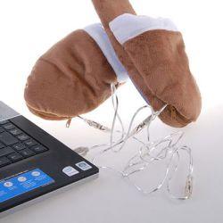 Grzejące Kapcie USB
