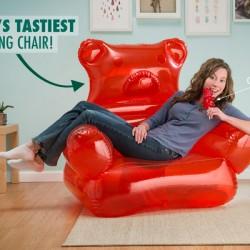 Fotel jak miś żelka