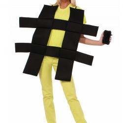 Nietypowy kostium na Halloween