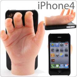 Obudowa na iPhone?a z dłonią