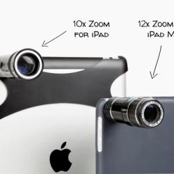Teleobiektyw do iPad'a