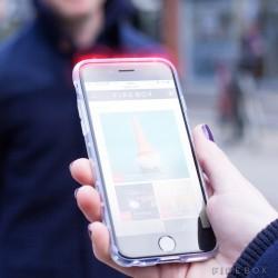 System ostrzegawczy w postaci nakładki na smartfona