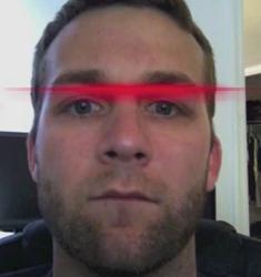 Skanowanie twarzy za pomocą iPoda