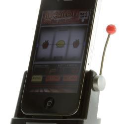 Telefon z jednorękim bandytą