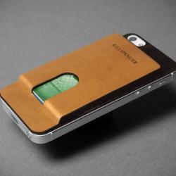 Kieszonka ze skóry dla iPhone'a