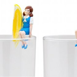 Figurki na szklanki