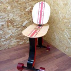 Krzesło deskorolka