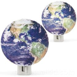 Lampka w formie kuli ziemskiej
