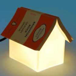 Lampka miejscem na książkę