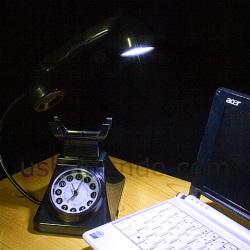 Budzik i lampka w telefonie