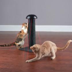 Koci drapak z laserem