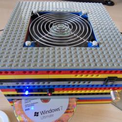 Komputer z klocków lego