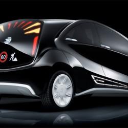 EDAG Light Car z wyświetlaczami OLED